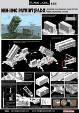 1/35 Dragon MIM-104C Patriot Surface-to-Air Missile (SAM) System (PAC-2) - #3604