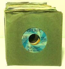 "Classic Rock Lot of 75 7"" 45 rpm Vinyl Record Jukebox Single Stones Eric Clapton"