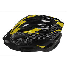 Yellow Bicycle Cycling Safety Helmet with Removable Carbon Fiber for Adult Szhkd