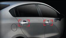 Chrome Door Handle Catch Molding Trim Cover for 12+ Kia Rio 4DR 5DR +Tracking No