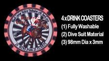 4  x BLACK CAVIAR RETIRES UNBEATEN 7/4/13 25 WINS FROM 25 STARTS DRINK COASTERS