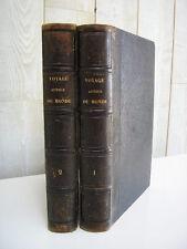 Dumont D'urville : Voyage autour du monde 45 gravures 2 cartes  Furne 1853