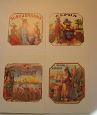 Cigar Box Advertising - 200 New Postcards Printed in Italy - decoupage