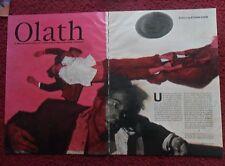 2003 Magazine Short Story 'OLATH' by Ethan Coen w/ Phil Hale Art