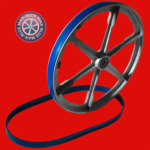"""2 BLUE MAX ULTRA DUTY URETHANE BAND SAW TIRES FOR 16"""" DOALL BAND FILER DIE FILER"""