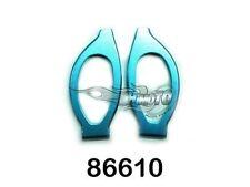 86610 BRACCETTI ANTERIORI SUPERIORI IN ERGAL 1:16 FRONT UPPER SUSP.ARM 2P HIMOTO