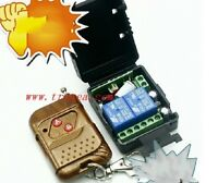 DC 12v 10A relay 2CH wireless RF Remote Control Switch Fernbedienung relais