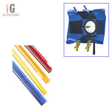 Color Gel Filter paper 4 set (B. O. R. Y.) 80cm x 100cm for Studio Video Light