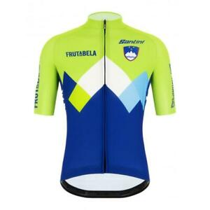 2020/21 Official Slovenia National Cycling Team Jersey Made in Italy by Santini