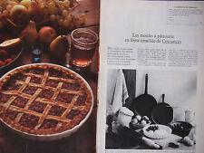 PUBLICITÉ 1979 COUSANCES LES MOULES A PÂTISSERIE EN FONTE ÉMAILLÉE - ADVERTISING