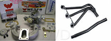MGB 1962 - 1980 Weber conversion kit &  Pacesetter Header to replace stock carb