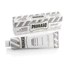 PRORASO Rasierseife Tube 150ml - für sensible Haut - Seife Creme Sapone da Barba