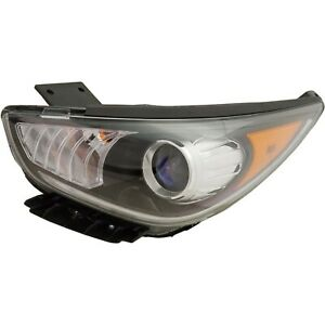 Driver Left LH Headlamp Assembly Halogen, Projector fits 2017 2019 Kia Niro