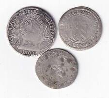 Nürnberg 3 Silbermünzen mit 20 Kreuzer 1763 nsw-leipzig