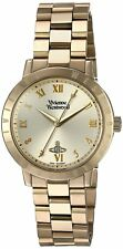 Vivienne Westwood Bloomsbury Women's Quartz Watch with Gold Dial Analogue and
