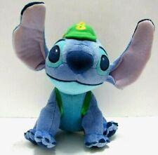 "Disney Stitch Lilo and Stitch 8"" Plush Stuffed Lovey Wearing Cap and Backpack"