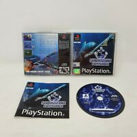 PS1 Submarine Commander - Complete With Manual - Rare Playstation Game