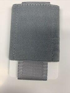 NOMATIC Slim Minimalist Front Pocket Wallet For Men/Women Holds 4-15 Cards Gray