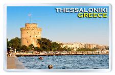 THESSALONIKI GREECE FRIDGE MAGNET SOUVENIR IMAN NEVERA