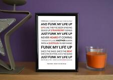 Framed - Paolo Nutini - Scream (Funk My Life Up) - Poster Art Print - 5x7 Inches