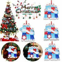 ADD Name 2020 Xmas Christmas Tree Hanging Ornaments Family Ornament Decor Lots