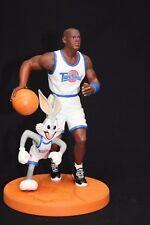 "Michael Jordan Bugs Bunny Space Jam Figurine Warner Bros New NIB 10"""