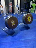 Two Glass Stash Jars Prescription Weed Smell Proof- Simpsons
