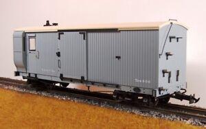 Accucraft R19-9B Lynton & Barnstaple Bogie Goods Van, Light Grey, Data only