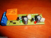 DELAY ON AND OFF TIMER SWITCH TIME RELAY ON 0 to 50 s OFF 0 to 45 s 10A 12V KIT