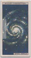 Spiral Galaxies NebulaTelescope Astronomy  c90 Y/O Trade Ad Card