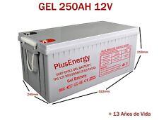 Batterie GEL 12V PlusEnergy TPG250 200AH-250AH C10-C100 Télécharger Profond