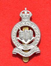 British Army. Northumberland Hussars Yeomanry Genuine OR's Cap Badge
