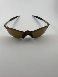 Oakley Zero 0.4 FMJ Platinum Gold Iridium 05-259 RARE