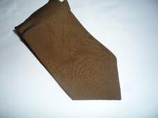 KR1305 Walbusch de Luxe Krawatte 100% Seide Braun meliert 145cm Gut