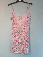 BABYDOLL M&S FLORAL CHEMISE BUST 38 - 40 - XL - UK 18 SOTTOVESTE NO INTIMISSIMI