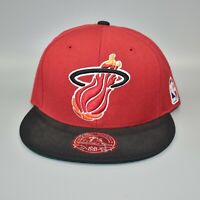 Miami Heat Mitchell & Ness NBA Hardwood Classics Fitted Cap Hat - Size: 7 1/4