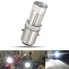 H6 BA20D FARI 16 LED Lampadina Luce Faro Hi Low Beam Anteriore Moto Scooter ATV