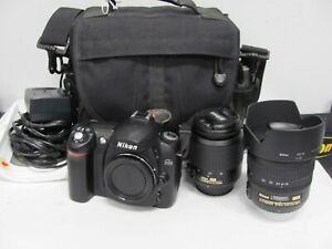 Nikon D50 Digital Camera Lenses BUNDLE