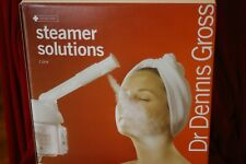 DR DENNIS GROSS STEAMER SOLUTIONS  STEAM SKINCARE DEVICE IN BOX AUTHENTIC **READ