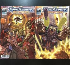 Transformers Energon Pair #19 And #20 - 2004 Dreamwave Productions - Used