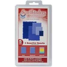 Spellbinders Nestabilities Dies Deckled Rectangles Large 879216006027