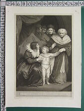 1798 GEORGIAN PRINT ~ DUKE OF YORK BROTHER TO EDWARD V RESIGNED BY THE QUEEN