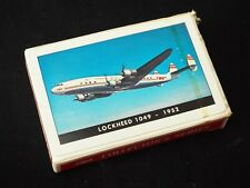 Vintage 1952 TWA Collector's Series Playing Cards LOCKHEED 1049 Airline Souvenir