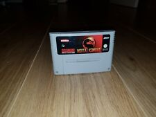 Mortal Kombat Super Nintendo SNES Cartridge PAL