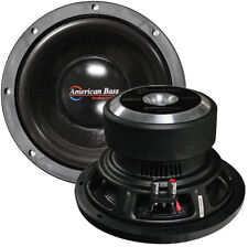 American Bass XD 1044 25.4cm WOOFER 900w Max 4 OHM DVC