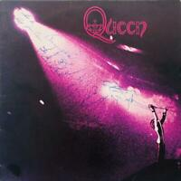 Queen Freddie Mercury Signed Debut Album Cover Authentic Autographs With Proof!!