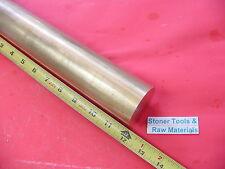 "5 Pieces 2"" C360 BRASS ROUND ROD 12"" long Solid 2.0 Diameter H02 Lathe Bar Stock"
