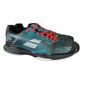 Babolat Jet Mach II All Court Mens 11.5 Blue Black Tennis Shoes