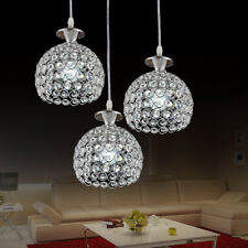 Modern Chandeliers LED Crystal Lighting Bar Ceiling Light Dining Pendant Lamp