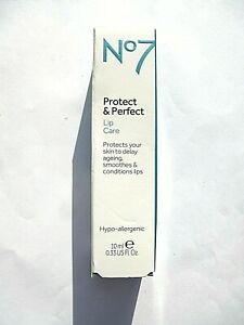 No7 Protect & Perfect Lip Care 10ml BNIB